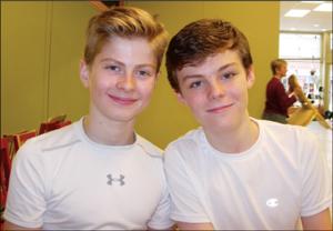 Sam Bradley, left, and Ben Stroud