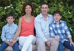Juan, Juanita, Tony and Liam