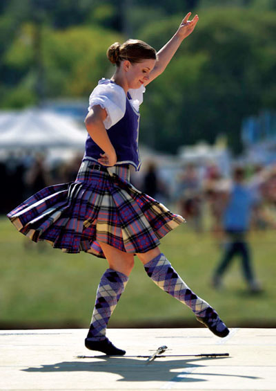 Highland games return quechee times a highlight of the weekend is highland dancing solutioingenieria Choice Image