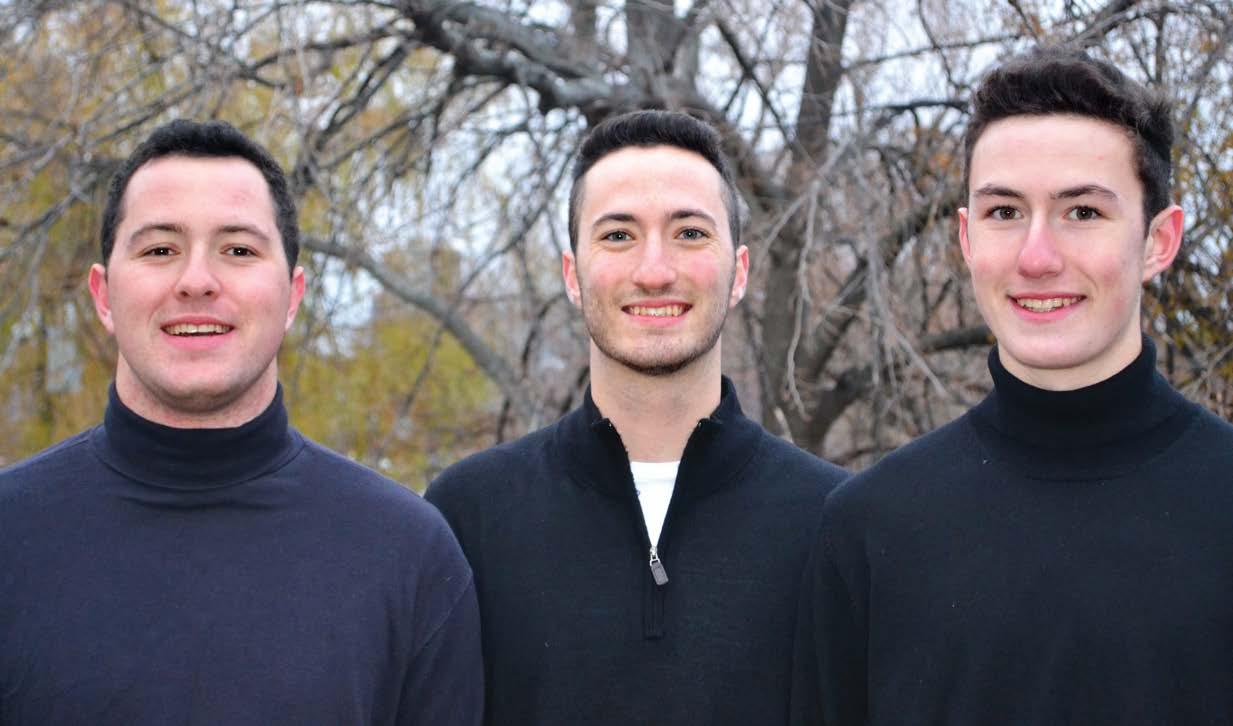 Michael, Robert, and Daniel