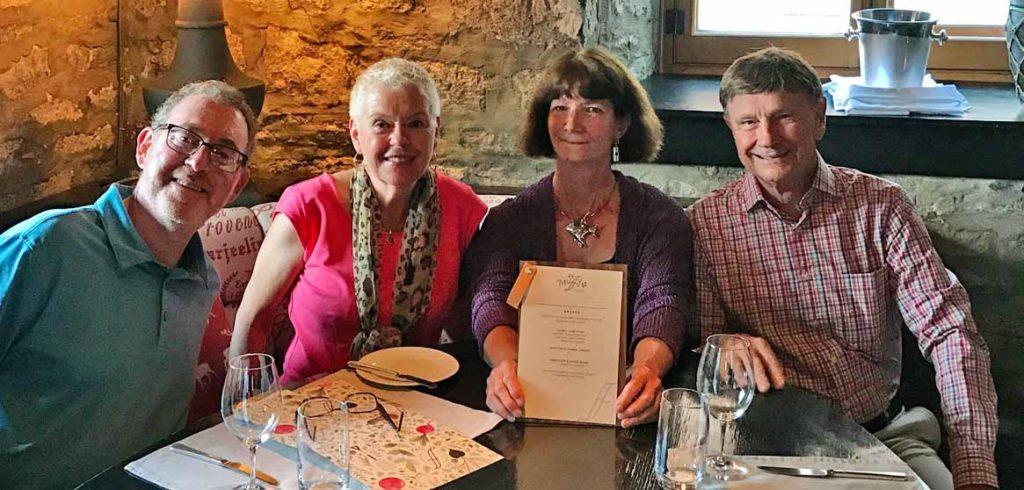 Chet & Debbie Marcus and Brenda & David Barrell